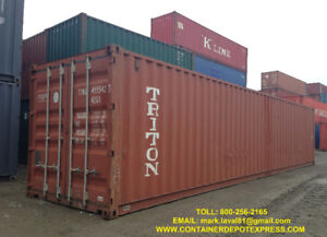 USED SHIPPING CONTAINERS - STEEL STORAGE CONTAINERS