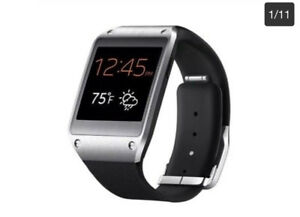 Samsung Galaxy Gear Sm-v700 Unisex Smart Watch Jet Black