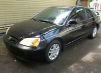 2001 Honda Civic SI  LOADED Coupe (2 door)
