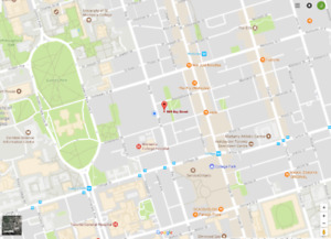 Selling core downdown parking (around College and Bay)