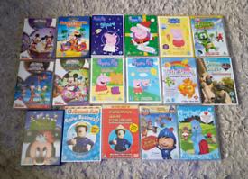 17 x Children's Dvd's