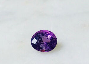 0.88ct Natural Purple Sapphire