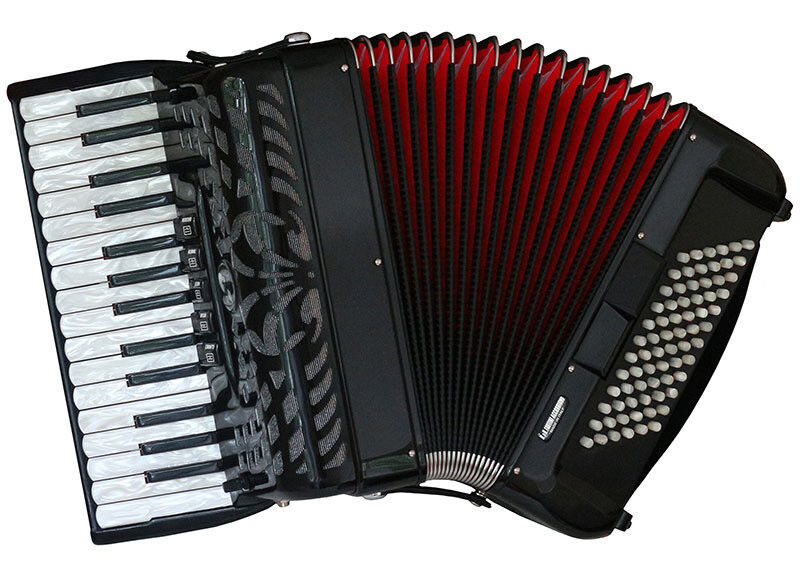 Fantini 72 Bass Piano Accordion