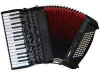 Fantini 72 Bass Piano Accordion