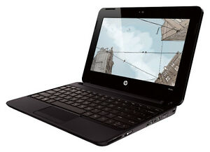 Laptop hp mini avec graveur dvd webcam  win 7  119$
