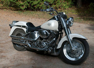 2001 Harley Fatboy Aftermarket Everything