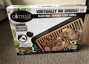 Smokeless Grill- Gotham Steel NEVER USED/OPENED
