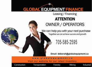 Fast, Easy Financing on Equipment and Trucks