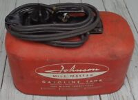 Vintage 58 Johnson Mile Master Aluminum Outboard Motor Gas Tank