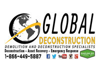 Demolition Services - Belleville/Trenton - 1-866-449-5887