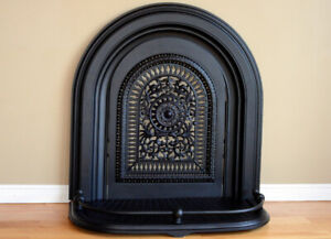 Cast Iron Fireplace Surround Restored