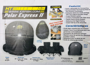 Polar Express II Flip Over 2-Man Ice Fishing Shelter Tent - $119