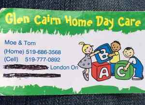 Glen Cairn Home Daycare London Ontario image 1