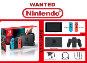 WANTED NINTENDO SWITCH GAME CONSOLE VIDEO GAME