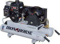 Iron Horse Gas Air Compressor 1000$ new never used