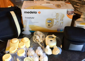 Medela Freestyle Double Electric Breastpump Kit