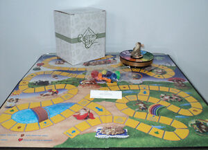 FITZ & FLOYD CHARMING TAILS MEMBER ONLY GAME WITH FIGURINE -NEW Cornwall Ontario image 2