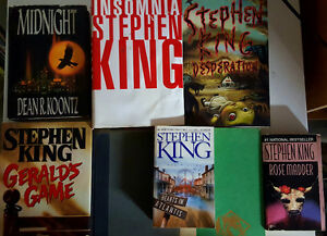 Collection of Horror and Thriller Novels-Koontz & King Included!