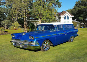1958 Ford 2 door Ranch Wagon Fairlane Hotrod Pro touring