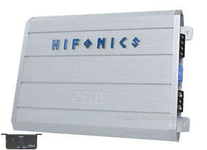 Hifonics 1200 watts rms Class-D Mono With Free Amp Kit !!