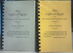 The Light of Egypt: The Science of the Soul & the Stars.