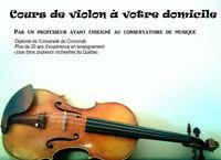 Cours de Violon   Secteur Sainte-Agathes-des-Monts