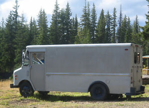 1981 GMC Work Van - CurbMaster with Gruman body