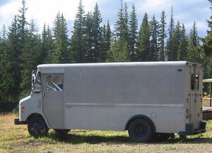 1981 GMC Work Van - CurbMaster with Gruman body