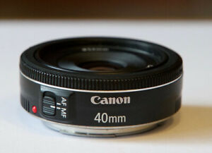 Canon 40mm f/2.8 et filtre variable ND