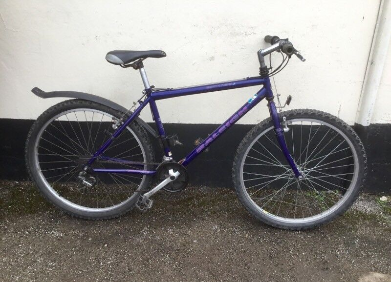 "GENTS RALEIGH MOUNTAIN BIKE 18"" FRAME £45"