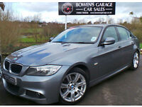 2010 (60) BMW 320D 2.0 M SPORT (181) 4DR - LOW MILES - FBMWSH - BIG SPEC