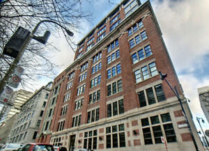 720sq ft 1 bdr Furnished Luxury Loft downtown Square Victoria