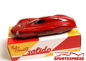 NEW 1/43 Solido Fiat Abarth
