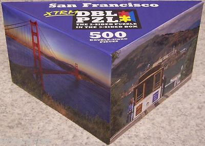 Jigsaw 2 Sided Puzzle In The 3 Sided Box 500 Piece San Francisco New
