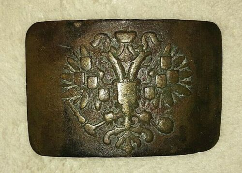 Original buckle from the First World War.