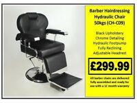 Barber Hairdressing Hydraulic Chair CH-C09 £299.99
