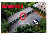 Garage to rent off road with CCTV