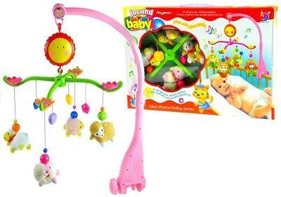 Karussell Schafe Kinderbett Spieluhr Plüschanhänger Hängespielzeug Musik-Mobile ()