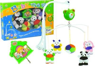 Karussell Kinderbett Spieluhr Plüschanhänger Hängespielzeug Baby Musik-Mobile ()