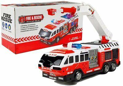 Kinder Spielzeug Feuerwehr Auto mit Licht & Sound ! Neu & Ovp!
