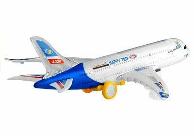 "Kinder Spielzeug Flugzeug ""Jumbo Happy Trip"" mit Licht & Sound! Neu & Ovp!!"