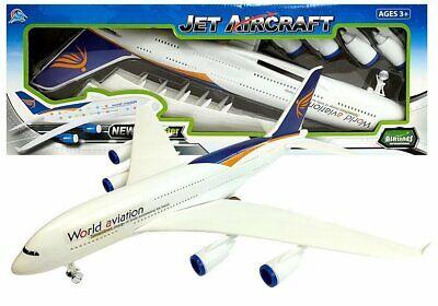 "Kinder Spielzeug Flugzeug ""Jet Aircraft"" 52cm groß ! Neu & Ovp!!"