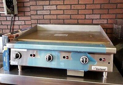 Garland Gtgg36-g36m 3-burner Flat Grill Griddle