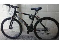 mens 18 gear 17 inch bike
