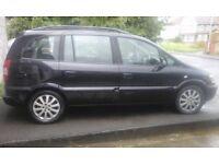 Vauxhall Zafira 2.0 dti elegance MPV seven seater 125000 miles
