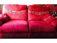 3 seater recliner and 2 seater SCS sofa grab a bargain