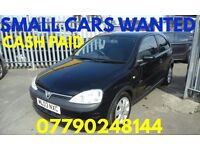 CORSA ,S WANTED.... ANYTHING CONSIDERED ..PATCHWAY BRISTOL