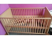 Kiddicare cot bed great condition