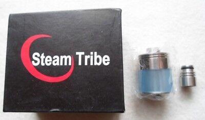 Steam Tribe 2ml E Cigarette Clearomizer silber/ blau E-C02-A1-504, gebraucht gebraucht kaufen  Egmating