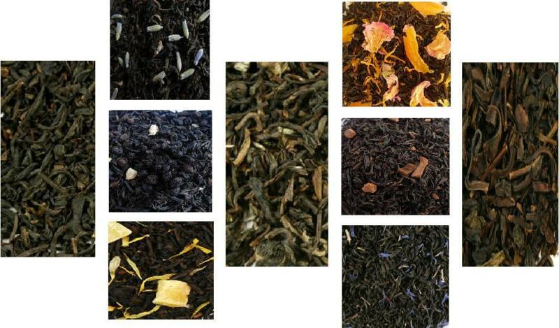 Black Tea or Oolong teas- iced or hot